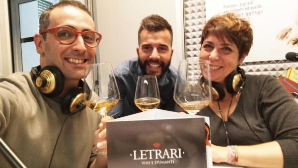 Abbinamento cibo vino: VinoTube e LETRARI su Radio Dolomiti