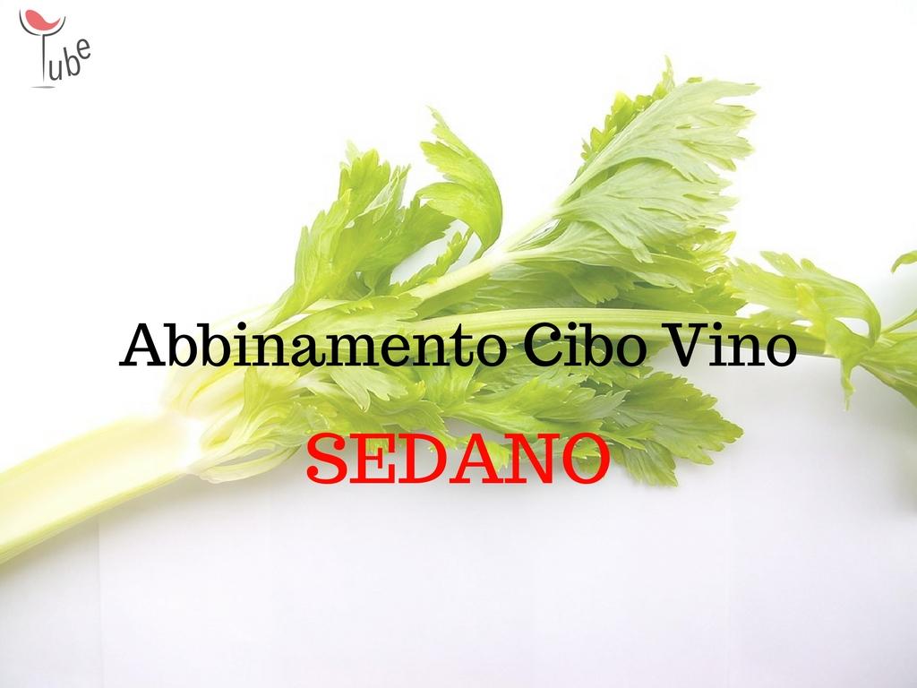 Sedano abbinamento cibo vino online vinotube