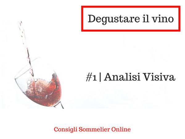 Come degustare il vino ANALISI VISIVA Corso Sommelier Online